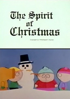The Spirit of Christmas. Jesus vs. Frosty 720p South Park