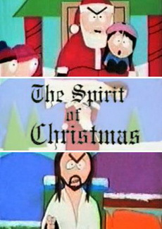 The Spirit of Christmas. Jesus vs. Santa 720p South Park